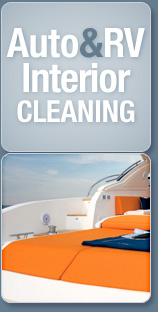 auto/RV interior cleaning